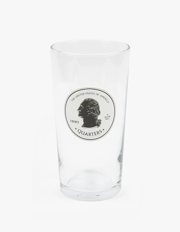 Pint Glass - Quaters