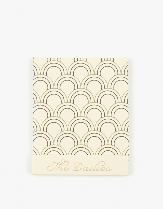 Matchbook Nail Files - Cream
