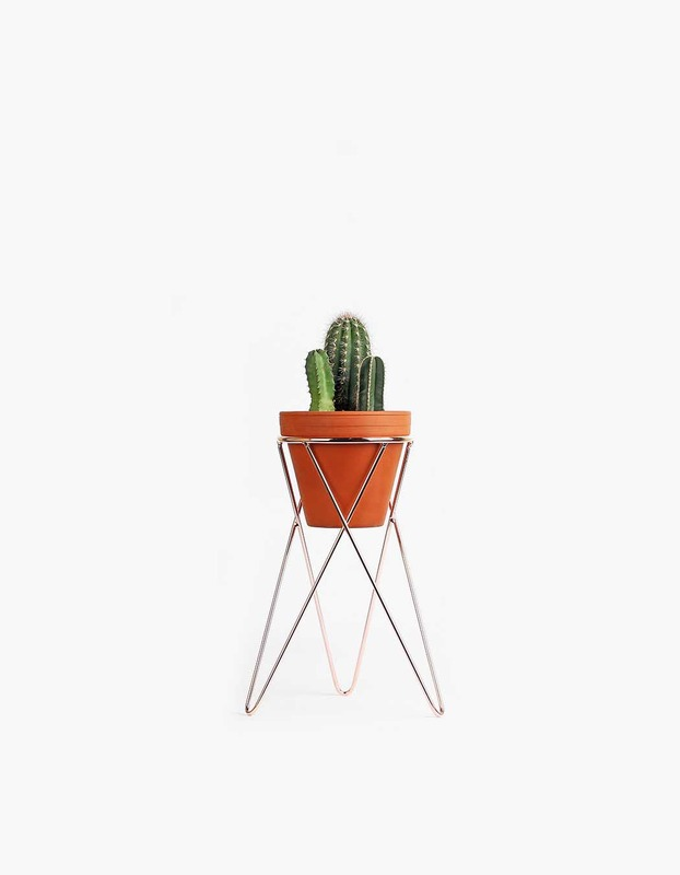 Plant Stand Small - Copper