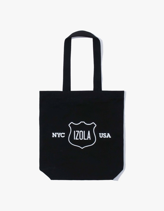 Izola Logo Tote Bag - Black