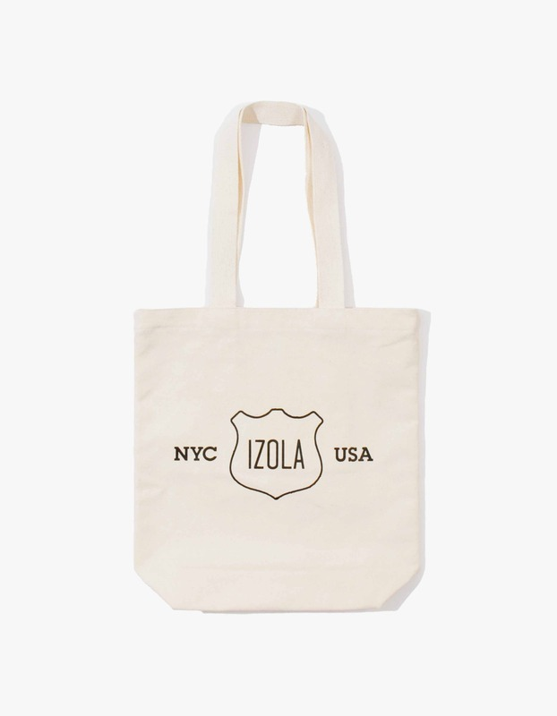 Izola Logo Tote Bag - Natural
