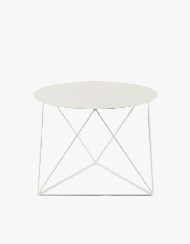Slingpole Table S Size - White