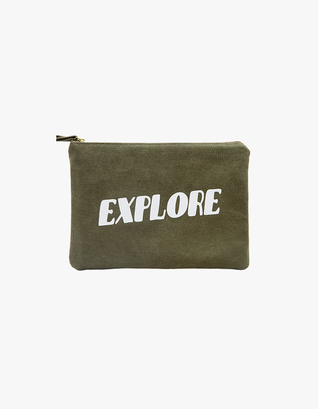 Explore Zipper Pouch