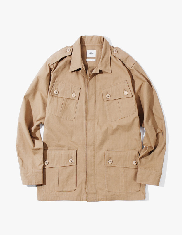 Fatigue Jacket - Beige