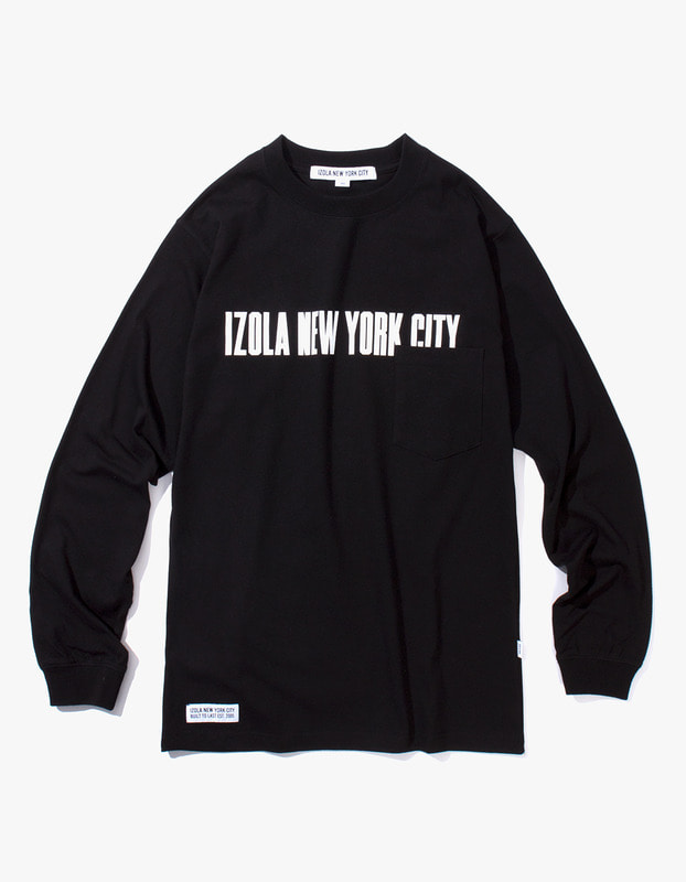 INYC L/S Pocket Tee - Black