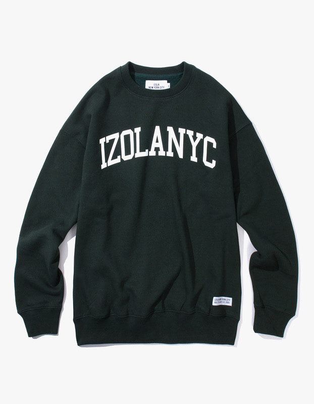 College Crewneck - Dark Green