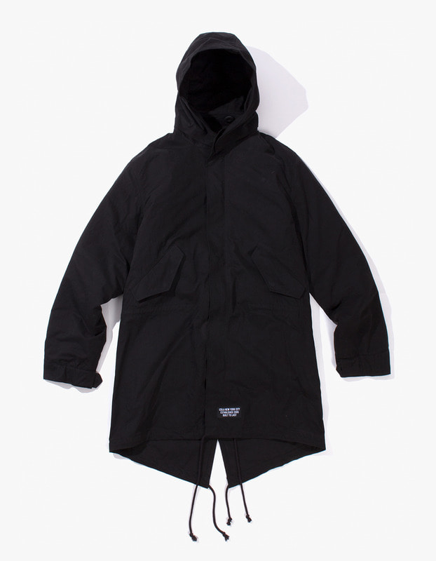 P.A.P M-51 Fishtail Parka - Black