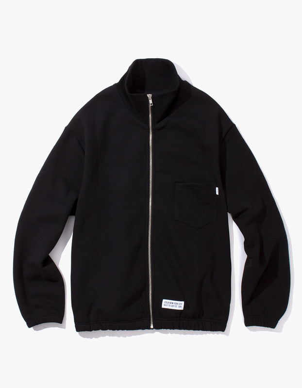 Live Free Zip-Up Sweat Jacket - Black