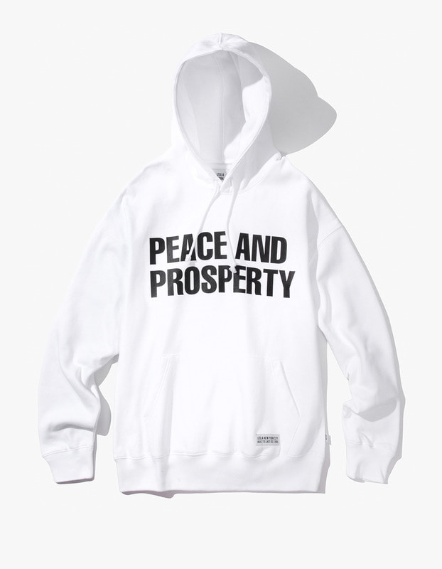 PAP Pullover Hoodie - White