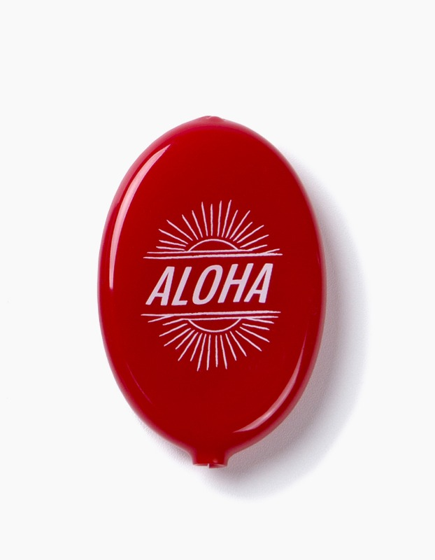 Aloha Coin Wallet - Red