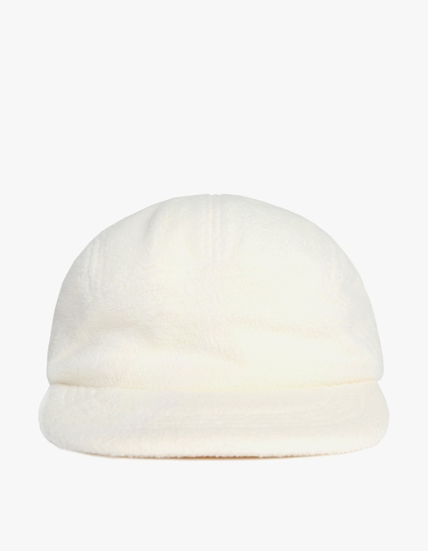 Fleece Pullvord Camp Cap - Cream