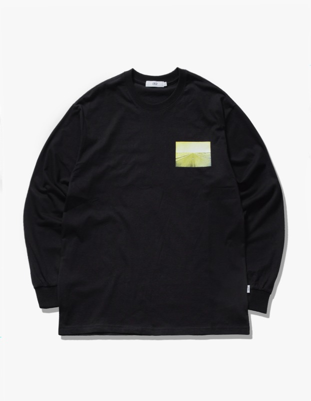 Bridges L/S Tee - Black