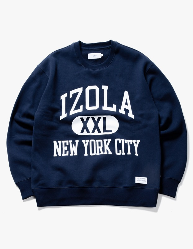 Big Logo Crewneck - Navy