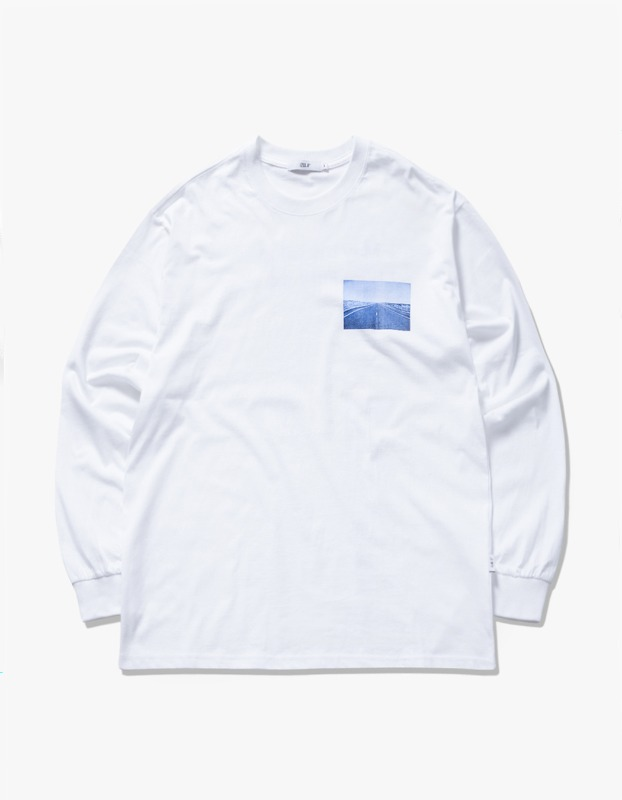 Bridges L/S Tee - White