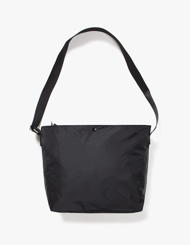 Nylon Shoulder Bag - Black