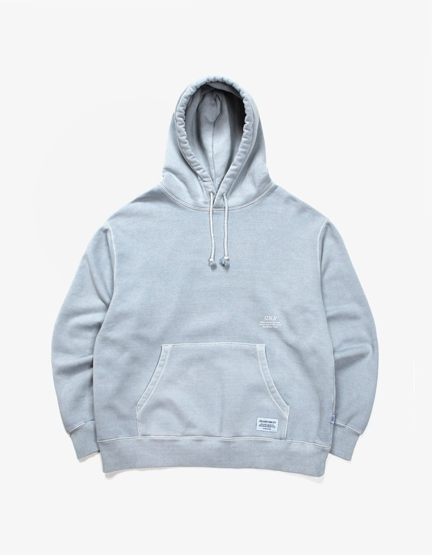 Over Dyed Hoodie - Powder Blue