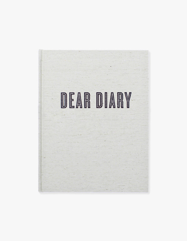 Dear Diary Journal Linen Diary
