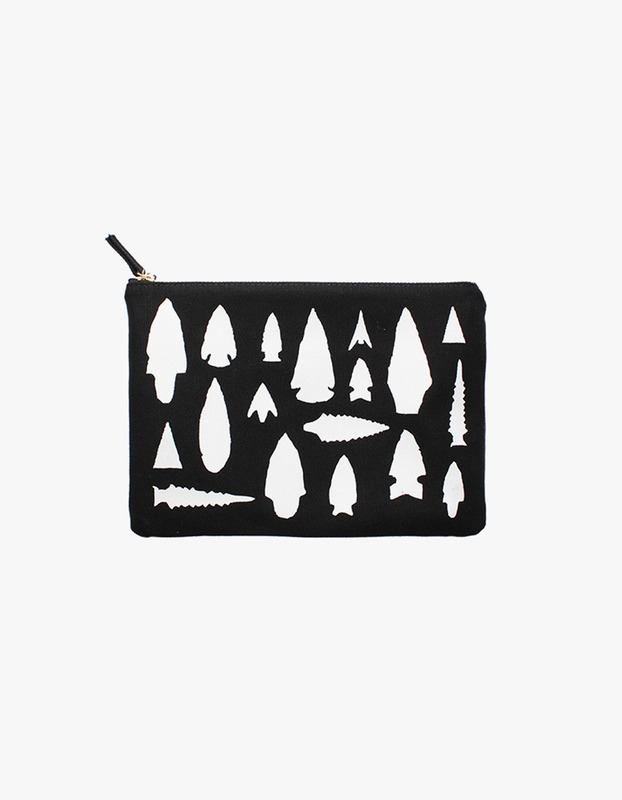 Arrowhead Zipper Pouch
