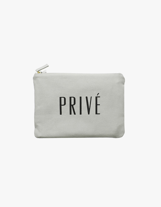 Prive Zipper Pouch