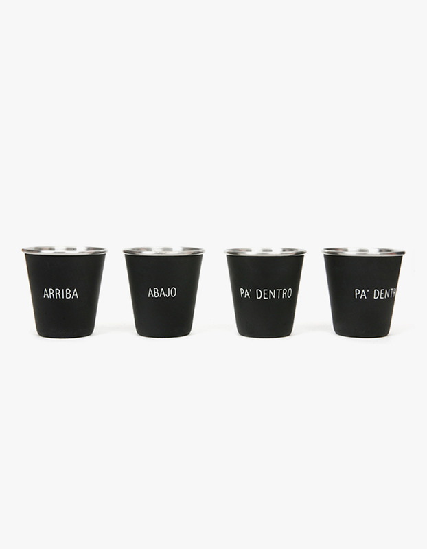Spanish Toast Nested Shot Glasses (4set)