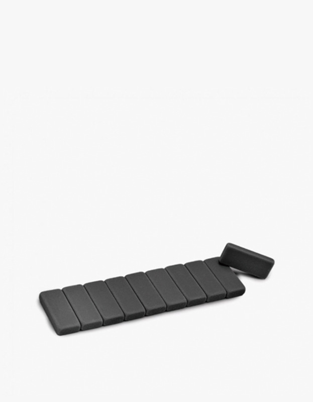 Blackwing Replacement Eraser 10 Pack - Black