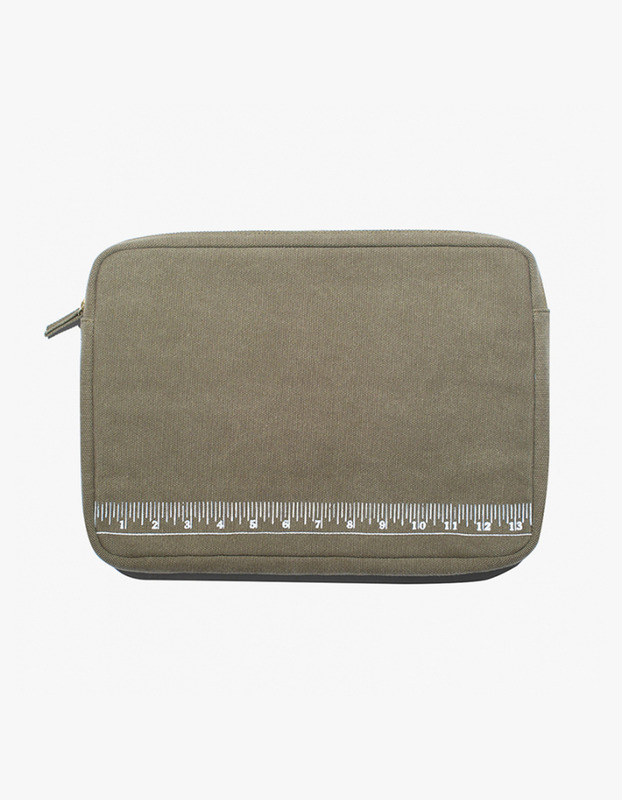 "Laptop Pouch 13"" - Ruler"