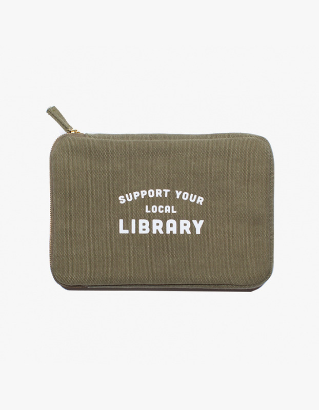 Ipad Mini Pouch - Library