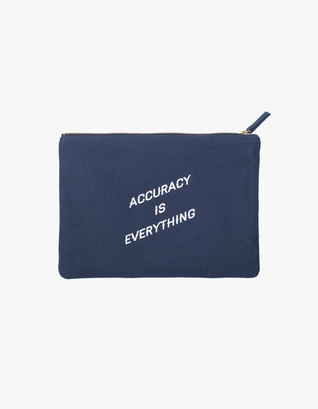 Accuracy Zipper Pouch
