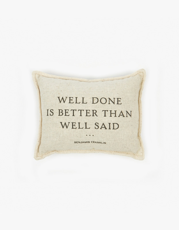 Benjamin Franklin Balsam Pillow