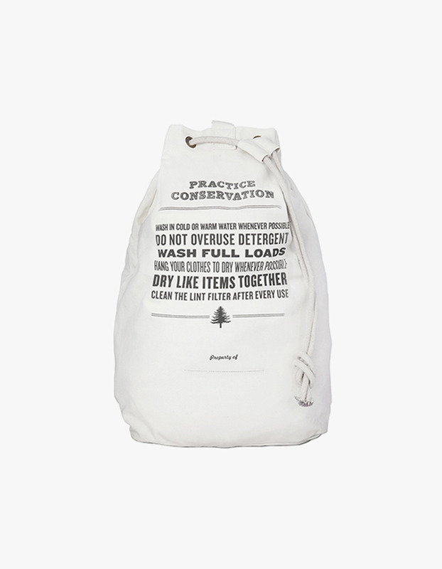 Practice Conservation Laundry Bag