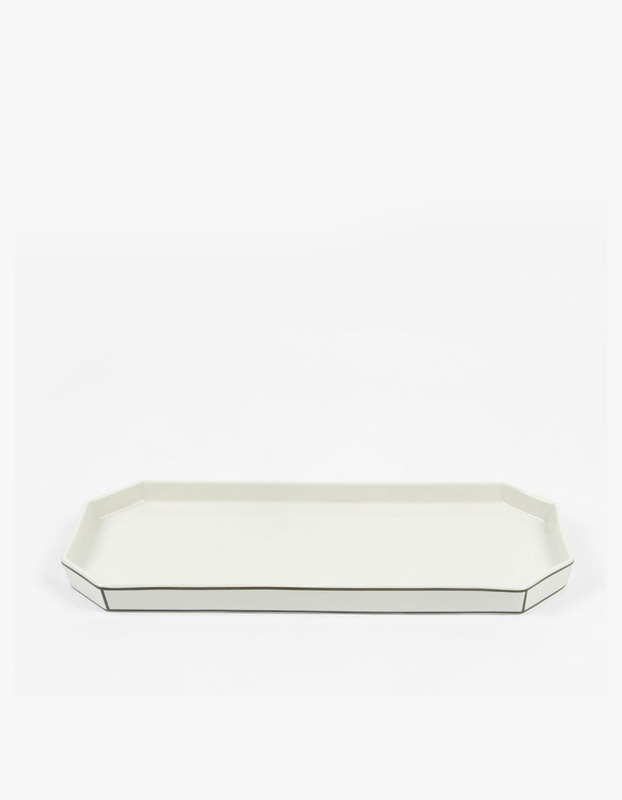Boudoir Tray - Black edge