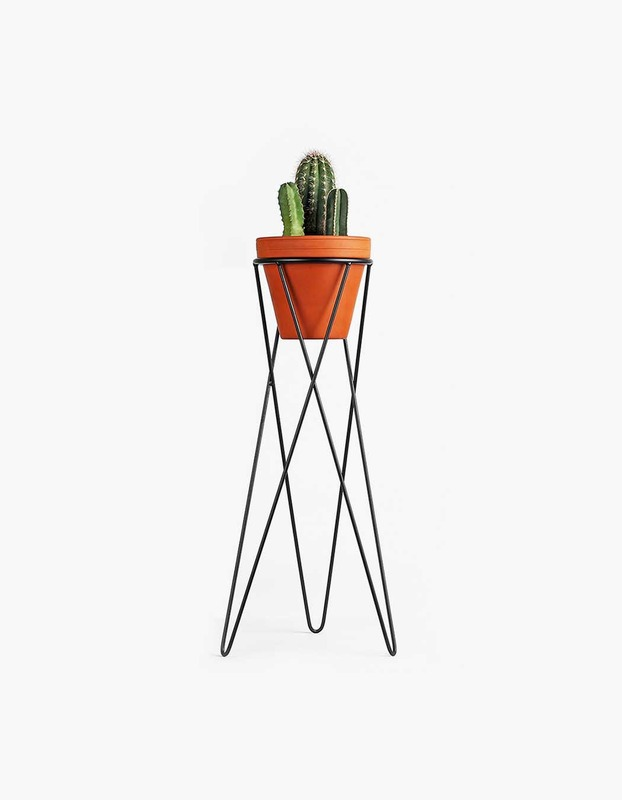 Plant Stand Large - Black