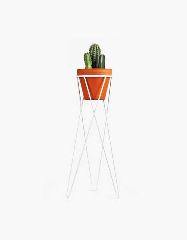 Plant Stand Large - White