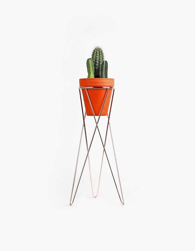 Plant Stand Large - Copper