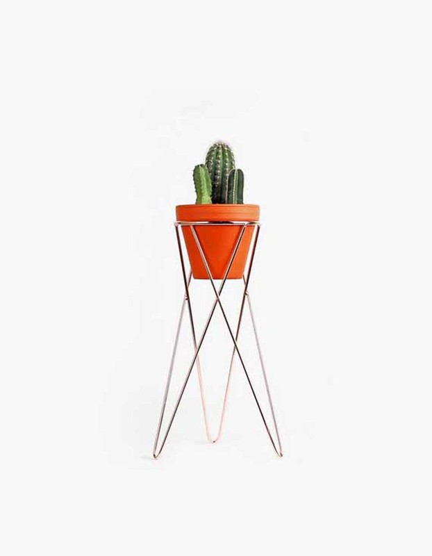Plant Stand Medium - Copper