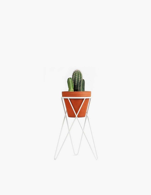 Plant Stand Small - White