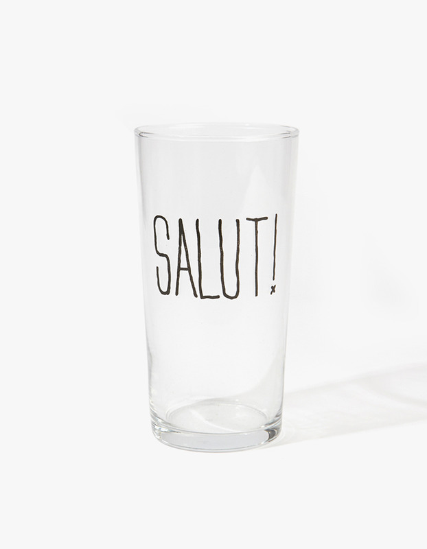 Pint Glass - Salut
