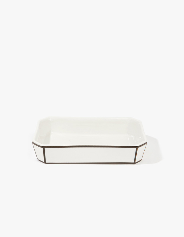 Soap Dish - Black edge