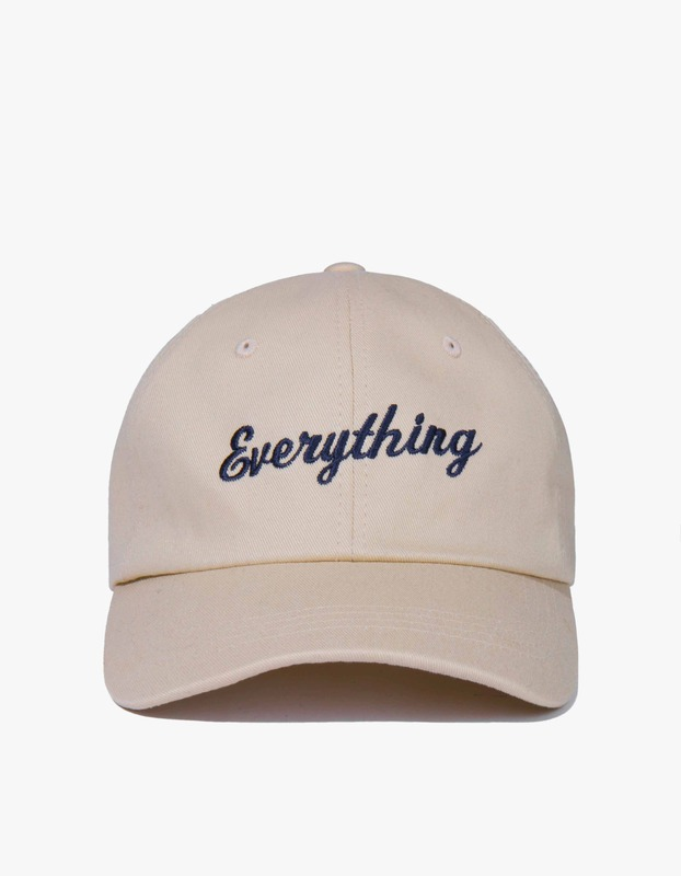 Everything Baseball Cap - Beige