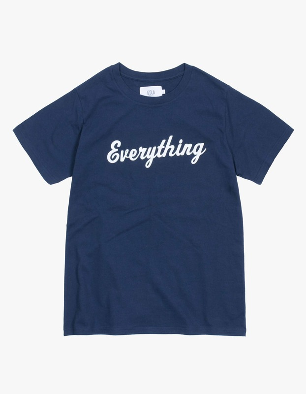 Everything T-Shirt - Navy