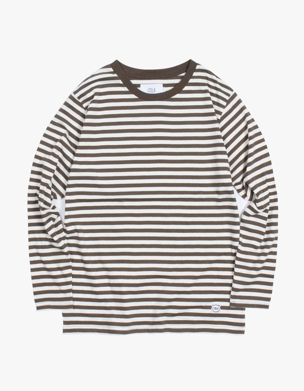 Stripe Long Sleeve T-Shirt - Olive