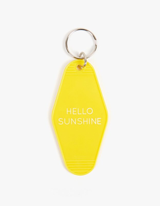 Key Tag - Hello Sunshine