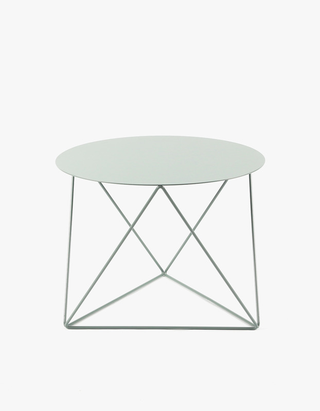 Slingpole Table S Size - Shale Green