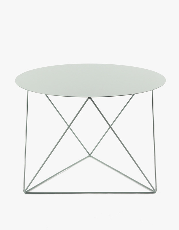 Slingpole Table L Size - Shale Green