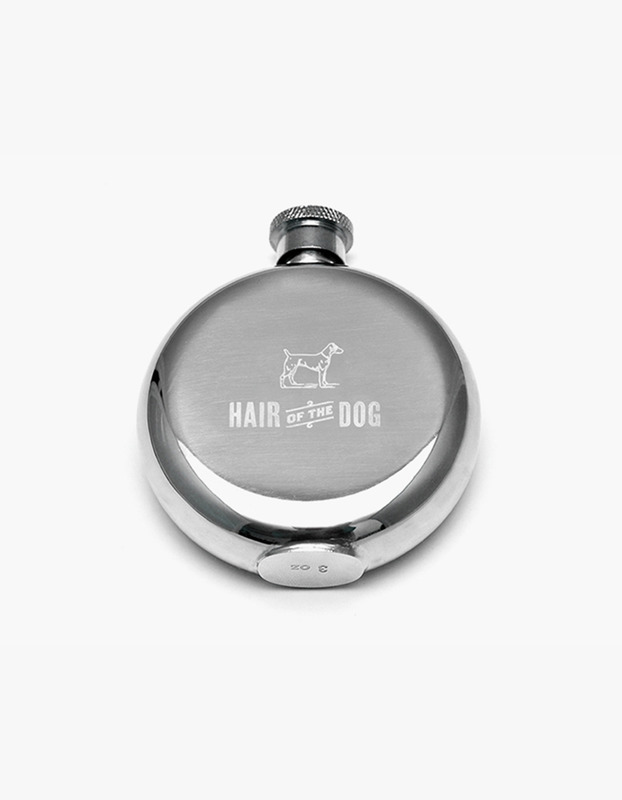 Hair of the Dog 3 oz. Flask