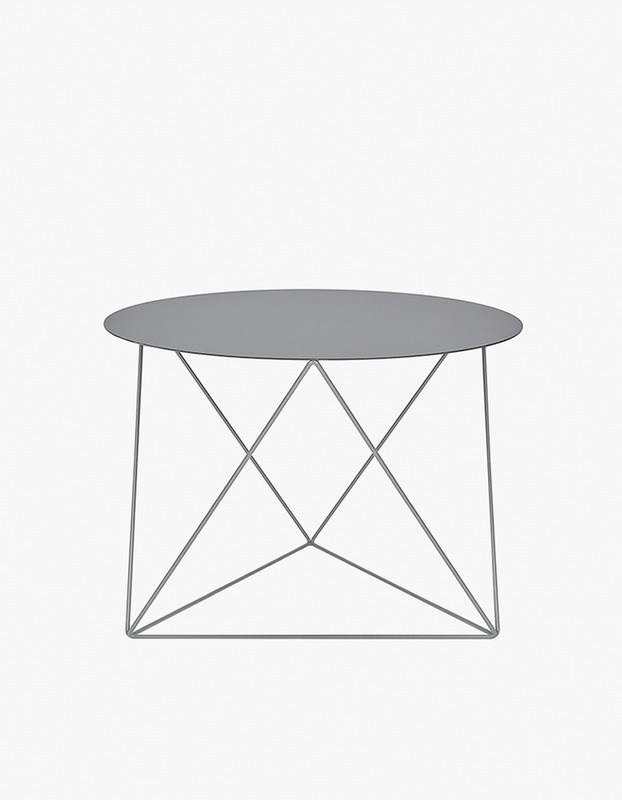 Slingpole Table S Size - Grey