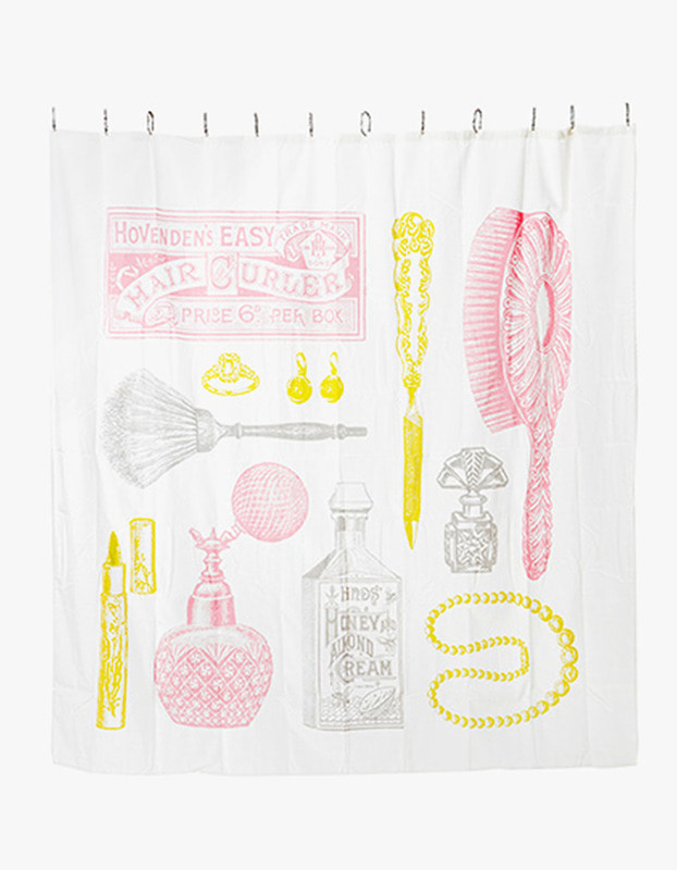 Powder Room Shower Curtain