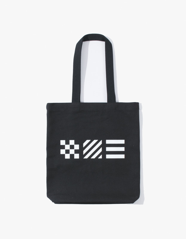 Signal Flag Tote Bag - Black