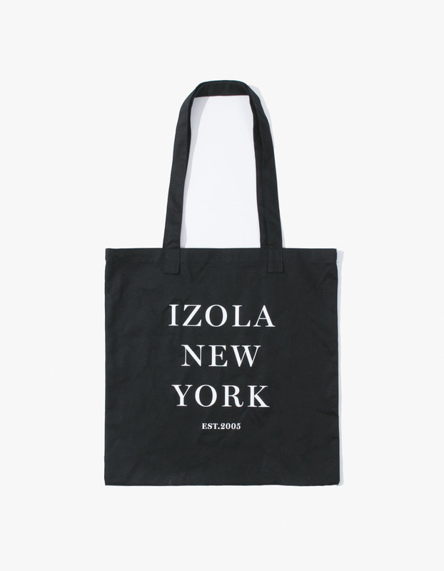 IZOLA New York Tote Bag - Black