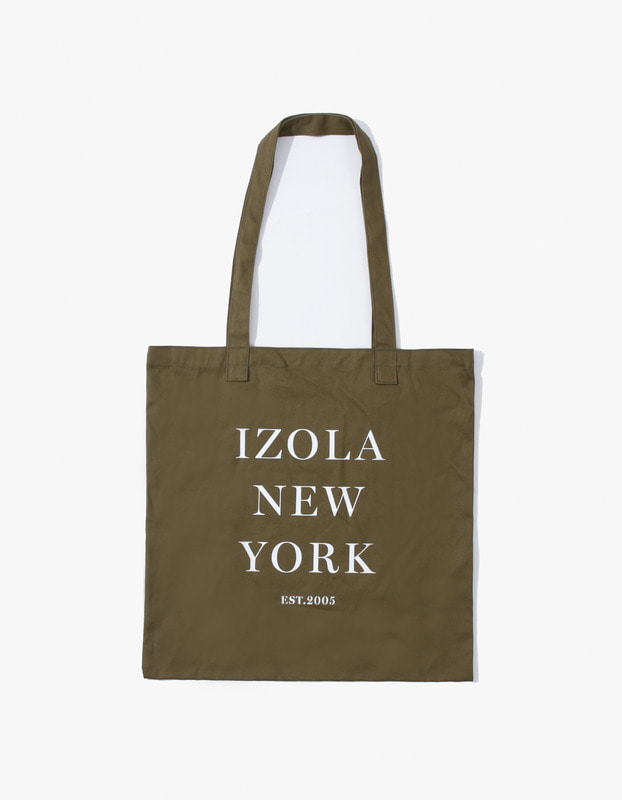IZOLA New York Tote Bag - Olive